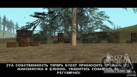 Realista v 1.0 de apiário para GTA San Andreas terceira tela