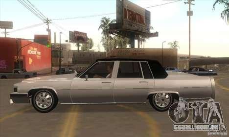 GTA IV Emperor para GTA San Andreas esquerda vista