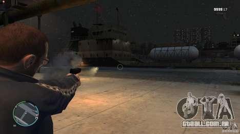 Arma-lança-mísseis para GTA 4 por diante tela