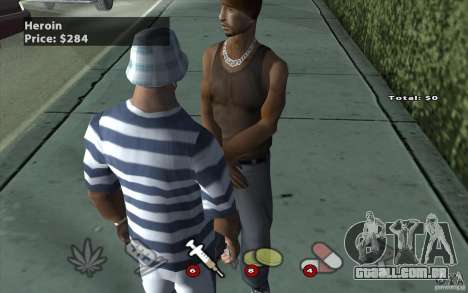 The Black Market Mod v.1.0 para GTA San Andreas