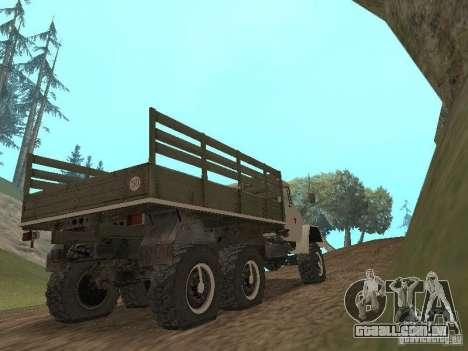 ZIL 131 Main para GTA San Andreas vista direita