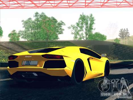 Lamborghini Aventador LP700-4 2011 V1.0 para o motor de GTA San Andreas