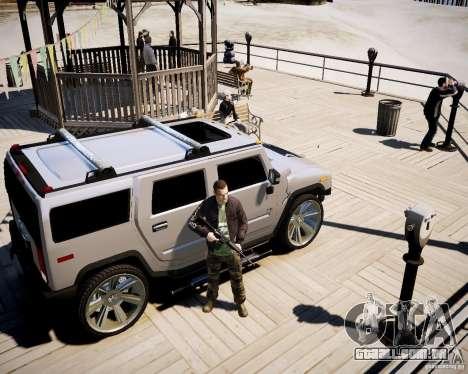 CoD Black Ops Hudson para GTA 4 sétima tela