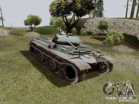 PzKpfw II Ausf.B para GTA San Andreas