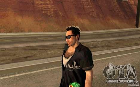 Biker para GTA San Andreas por diante tela