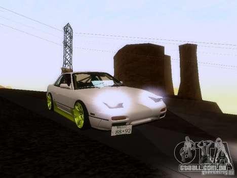 Nissan Silvia S13 Drift Style para o motor de GTA San Andreas