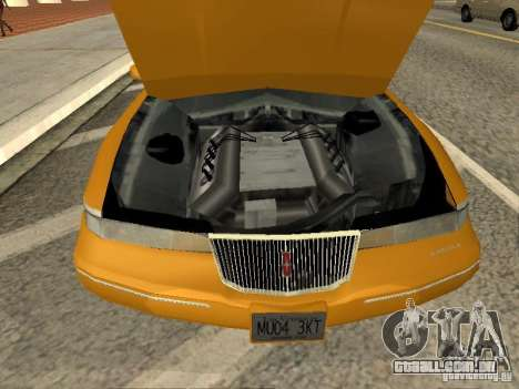 Lincoln Mark VIII 1996 para GTA San Andreas vista direita