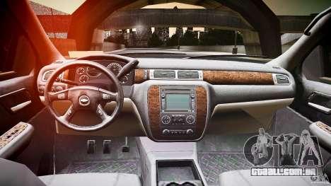 Chevrolet Silverado 1500 v1.3 2008 para GTA 4 vista de volta