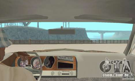 Pontiac LeMans 1970 Scrap Yard Edition para GTA San Andreas vista traseira