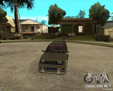 OKA 1111 Z.V.E.R. Tuning para GTA San Andreas vista traseira