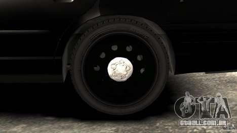 Ford Crown Victoria Police Interceptor 2003 LCPD para GTA 4 vista de volta