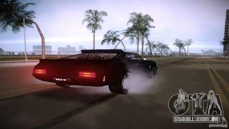 Ford Falcon GT Pursuit Special V8 Interceptor 79 para GTA Vice City vista direita