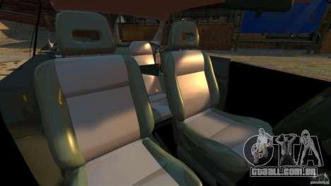 Honda Civic iES para GTA 4 vista interior