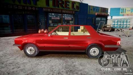 Ford Taunus para GTA 4 esquerda vista