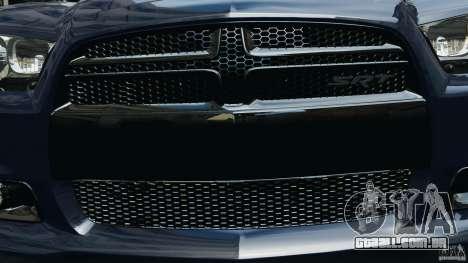 Dodge Charger SRT8 2012 v2.0 para GTA 4 motor
