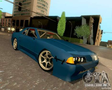 Elegy Drift Korch para GTA San Andreas vista interior