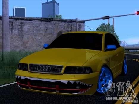 Audi S4 DatShark 2000 para GTA San Andreas traseira esquerda vista