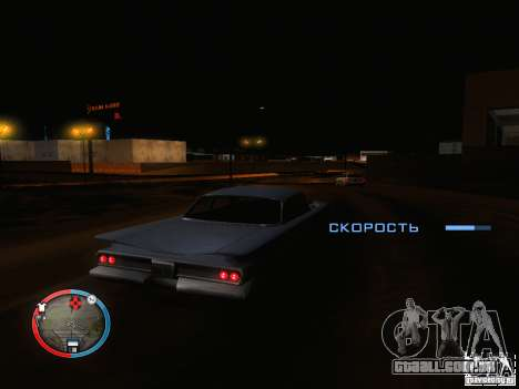 Piloto automático para carros para GTA San Andreas segunda tela