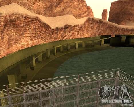Base do dragão para GTA San Andreas segunda tela