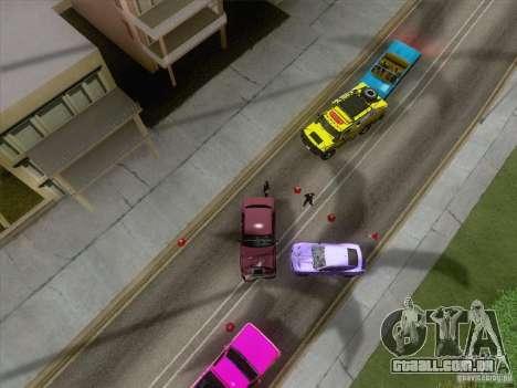 Acidente na estrada para GTA San Andreas terceira tela