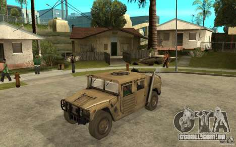 Hummer H1 War Edition para GTA San Andreas