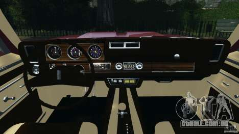 Oldsmobile Vista Cruiser 1972 v1.0 para GTA 4 vista de volta