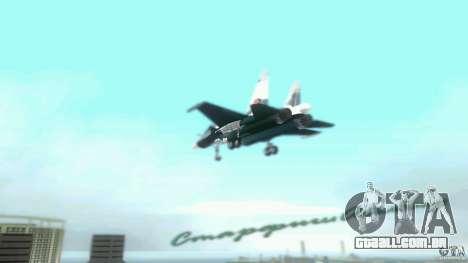 Vice City Air Force para GTA Vice City vista traseira