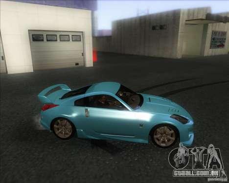 Nissan 350Z 2004 para GTA San Andreas esquerda vista