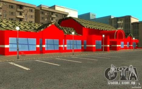 Coca Cola Market para GTA San Andreas por diante tela