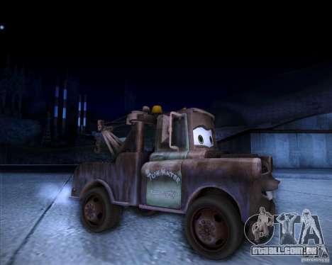 Car Mater para GTA San Andreas vista direita