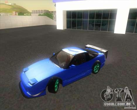 Nissan 240SX for drift para GTA San Andreas vista direita