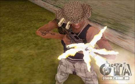 Tavor ctar-21 de WarFace v2 para GTA San Andreas terceira tela