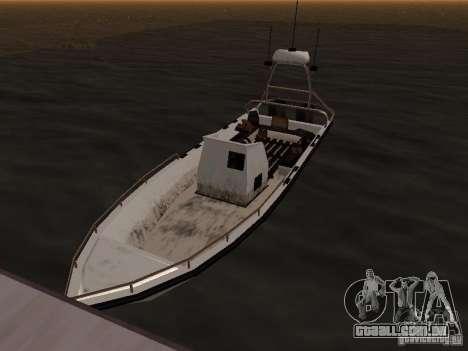 A base militar revivida em docas v 3.0 para GTA San Andreas quinto tela