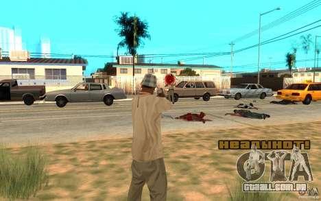 Headshot para GTA San Andreas