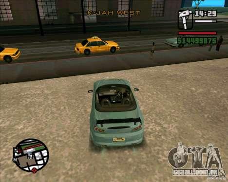 Honda S2000 para GTA San Andreas vista direita
