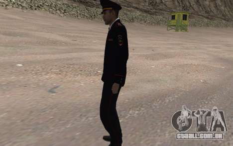O oficial do Ministério do INTERIOR para GTA San Andreas segunda tela