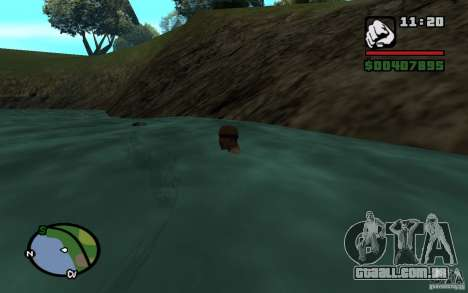 Fluxo e refluxo para GTA San Andreas terceira tela