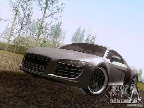 Audi R8 Hamann para GTA San Andreas vista traseira
