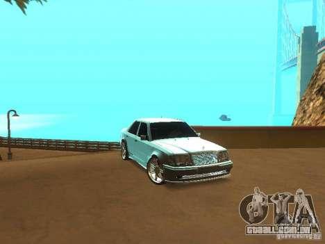 Configuração de qualidade ENBSeries para GTA San Andreas terceira tela
