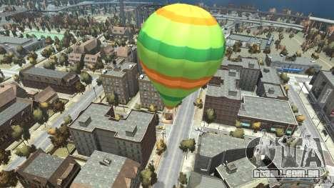 Balloon Tours option 10 para GTA 4 traseira esquerda vista