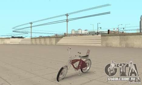 Lowrider Bicycle Custom Version para GTA San Andreas