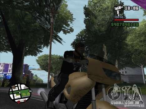 Pequenas curiosidades para GTA San Andreas quinto tela