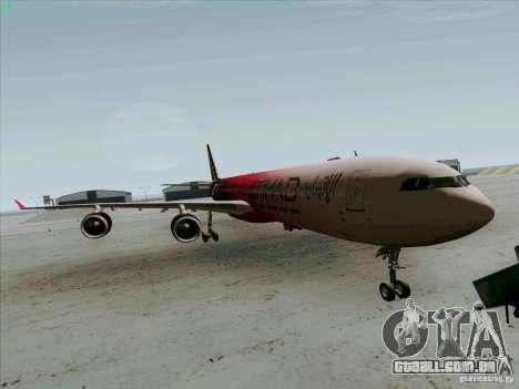 Airbus A-340-600 Formula 1 para GTA San Andreas