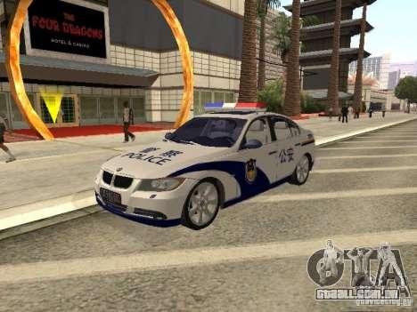 BMW 3 Series China Police para GTA San Andreas