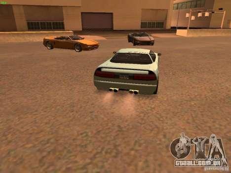 Infernus Revolution para GTA San Andreas vista direita
