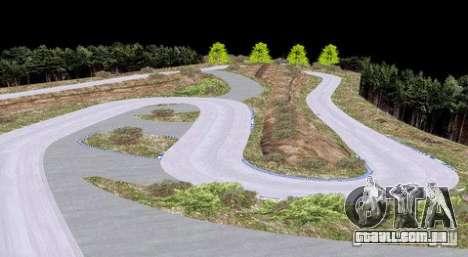 Ebisu West para GTA San Andreas por diante tela