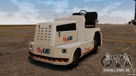 FlyUS Tugs Pack para GTA 4 esquerda vista