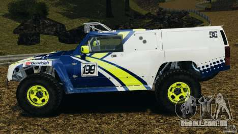 Hummer H3 raid t1 para GTA 4 esquerda vista