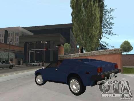 Lamborghini Jalpa P350 1984 v1.1 para GTA San Andreas esquerda vista