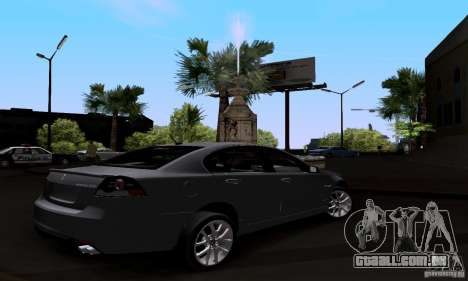 Pontiac G8 GXP para GTA San Andreas esquerda vista